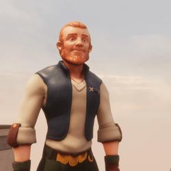 Hushkal's : Adventurer 01 : Blue  top