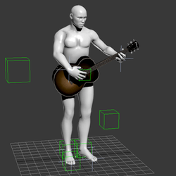Guitar animation