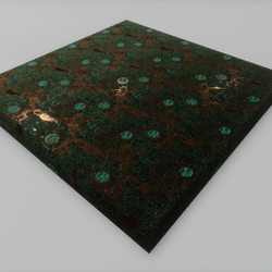 copper floor