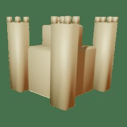 Simple Sand Castle