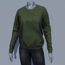Women Sweater - Chive