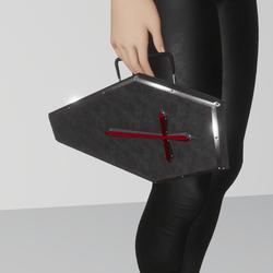 coffin purse