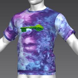 Ready Player One: Jade Key T-Shirt (Tiedye) (M)