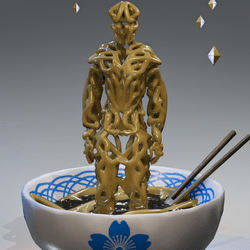 Ramen noodle avatar