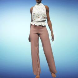 Stella Outfit - Salmon