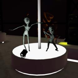 Dancing Alien (Belly Dance)