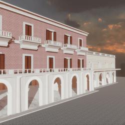 BUILDING SHOP  WITH TERRACE