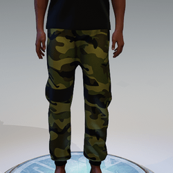 Camouflage Sweatpants for Men