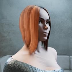 Hair Myriam tintable