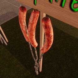 Hotdog on a stick