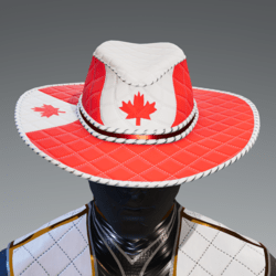 Canadian Flag Hat