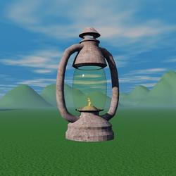 Lantern Glass Globe