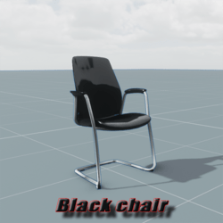 Balck Chair