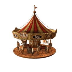 Animated Horse Carousel