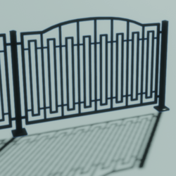 Metal Fence (Style1)