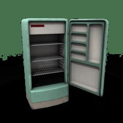 Vintage Refrigerator (base)