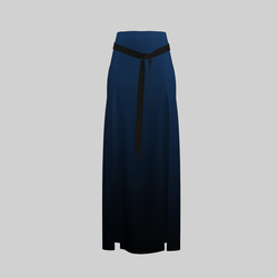 Skirt Briana Gradient Blue 2.0
