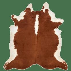 Skin Rug Cow Brown