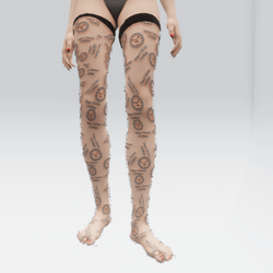 Timey Master Clothing Branded Stockings (TM)