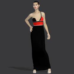 """Gilda black red """"Elisea Carter"""""""