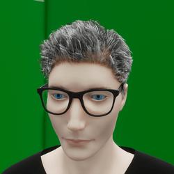 Male Hair (TM)
