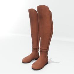 AV 2.0   Winter boots wide calf - Brown