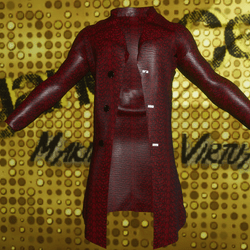 Male Red Snake Skin Jacket