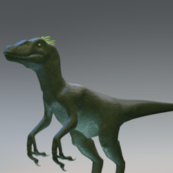 Green Raptor Avatar
