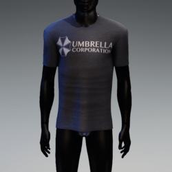 Umbrella Corporation T-Shirt Navy Heather