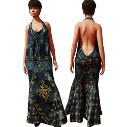 1920's Gown BLUE v2