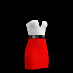 80's Day-Glow Club Dress 07
