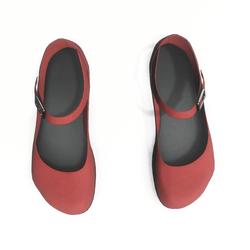 AV 2.0   Mary jane flats - red
