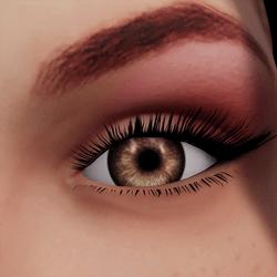 Angela Add-On Eyes - Wood Brown
