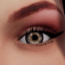 Angela Add-On Eyes - Quartz Brown