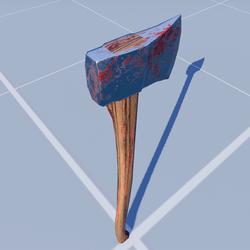Lumberjack Axe Blood