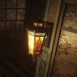 Goth Wall Lamp
