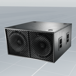"""SubWoofer Dual 18"""" 