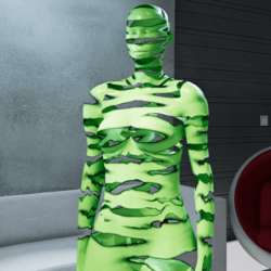 MARE AVATAR  GREEN BROKEN