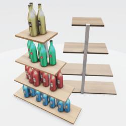 Liquor Xmas Tree Shelf Version 1