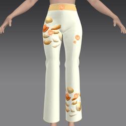 Pants with Orange Shells