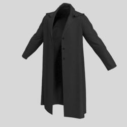 male coat black