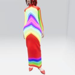 Rainbow Glow Dress (TM)