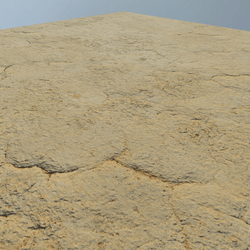 SEA FLOOR CRACK SAND - FLAT BIG PLATFORM
