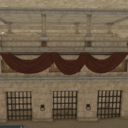 Colosseum Banner & Rod