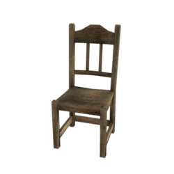 Old Ranch Chair
