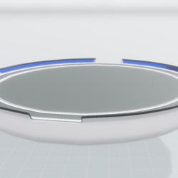 Sci Fi Floating Platform