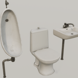 Toilet Props Collection