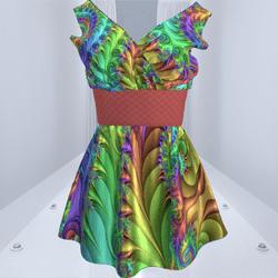 Sexy Satin Dress #2