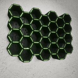SPACE HIVE SHELFS - Hexagonal