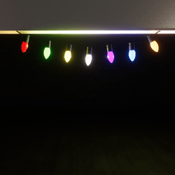 LIGHTS CHAIN PARTY/BIRTHDAY( can add scripts)